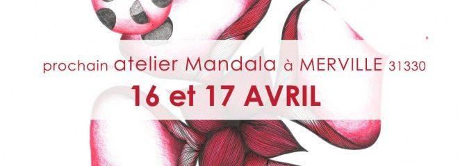 Le bonheur du printemps vienne avec des Mandalas, le week-end 16 et 17 avril!!!!