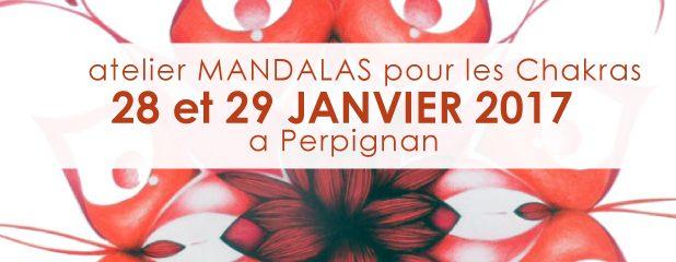 atelier MANDALAS 28 et 29 JANVIER 2017  à Perpignan