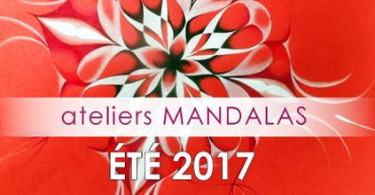 ateliers MANDALAS ÉTÉ 2017 – DÉCOUVERTE et LA RENCONTRE AVEC SA YONI