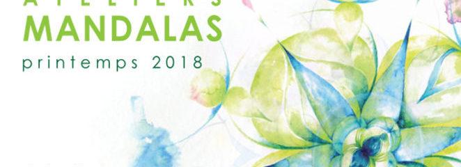 ATELIERS  MANDALAS printemps 2018