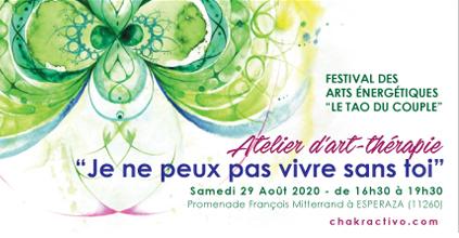 """Atelier Festival des Arts Énergétiques """"Le Tao Du Couple"""""""